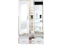 Aynalı Çekmeceli Takı Dolabı 155x40x32