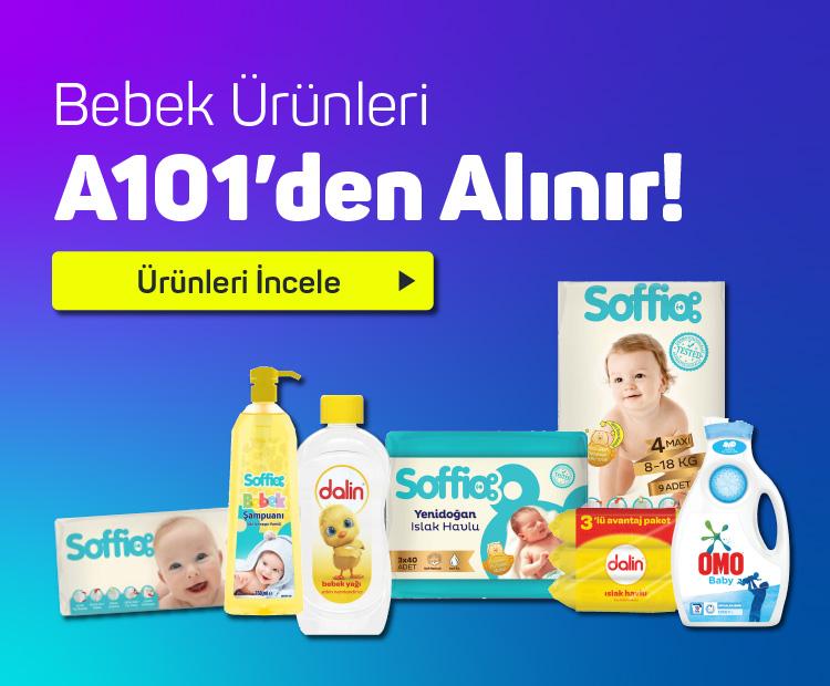 Bebek Ürünleri A101'den Alınır !