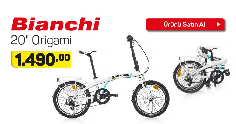 """Bianchi 20"""" Origami Bisiklet"""