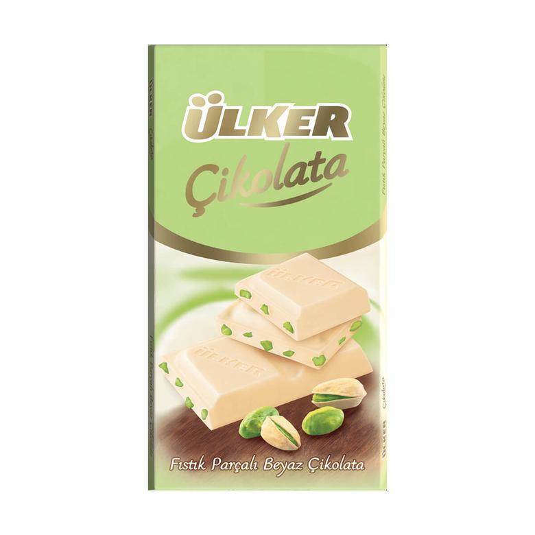 Ülker Golden Çikolata A.fıstıklı Beyaz 77 G