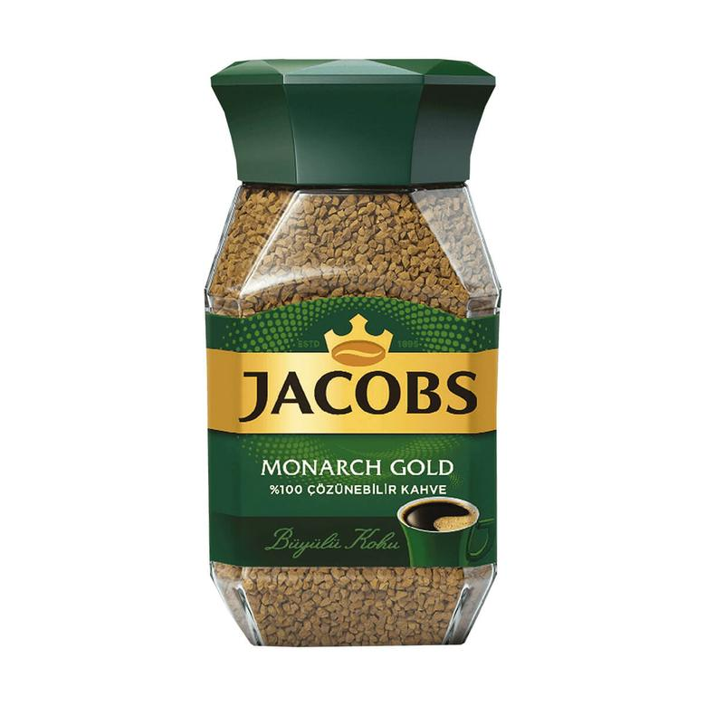 Jacobs Monarch Kahve Gold Cam Kavanoz 47,5 G