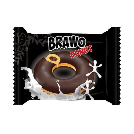 Brawo Kek Kakao Soslu Donut 40 G