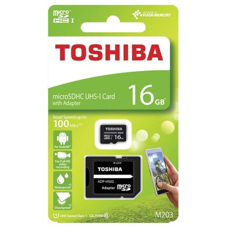 Toshiba Micro Sdhc Kart 16 Gb
