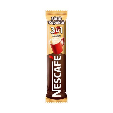 Nescafe Kahve 3'ü 1 Arada Sütlü Köpüklü 17,4 G