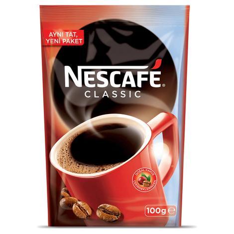 Nescafe Kahve Klasik Eko Paket 100 G