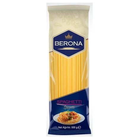 Berona Spagetti Makarna  500 G
