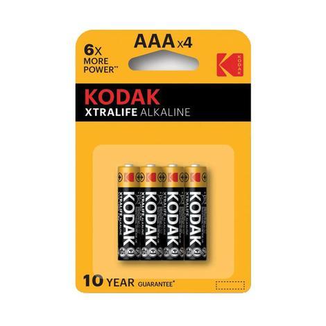 Kodak Alkalin İnce Pil 4'lü