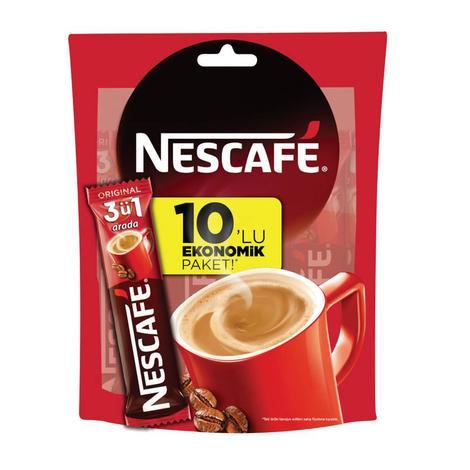 Nescafe Kahve 3'ü 1 Arada 10 X 17,5 G