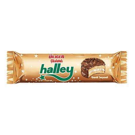 Ülker Halley Bisküvi Çikolata Kaplı Marshmallow 66 G