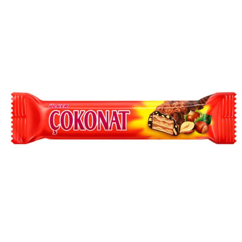 Ülker Çokonat Gofret Çikolatalı Fındıklı 33 G