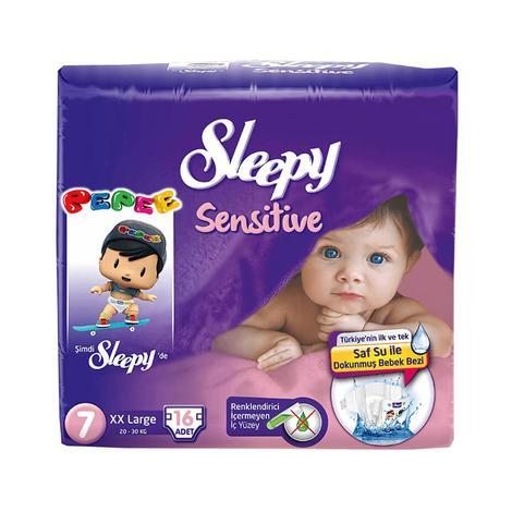 Sleepy Çocuk Bezi 7 Numara 16'lı