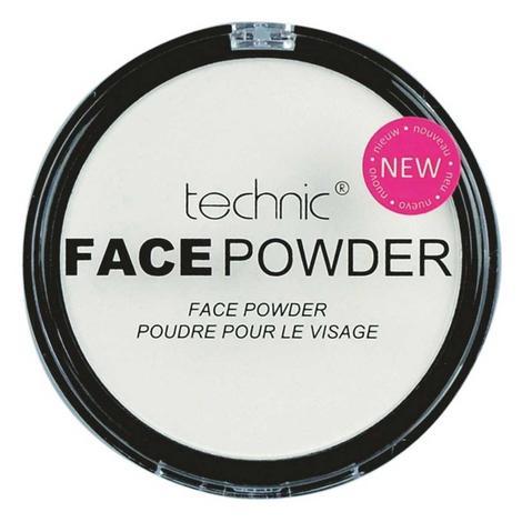 Technic White Face Paint Sabitleyici Pudra
