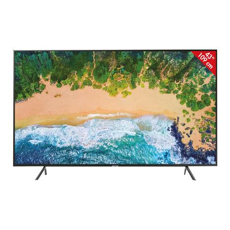 "Samsung UE-43NU7100 4K Ultra HD 43"" Uydu Alıcılı Smart LED TV"