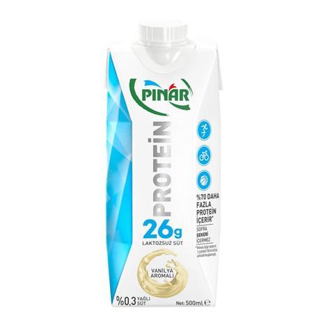 Pınar Proteinli Süt Vanilyalı 500 Ml