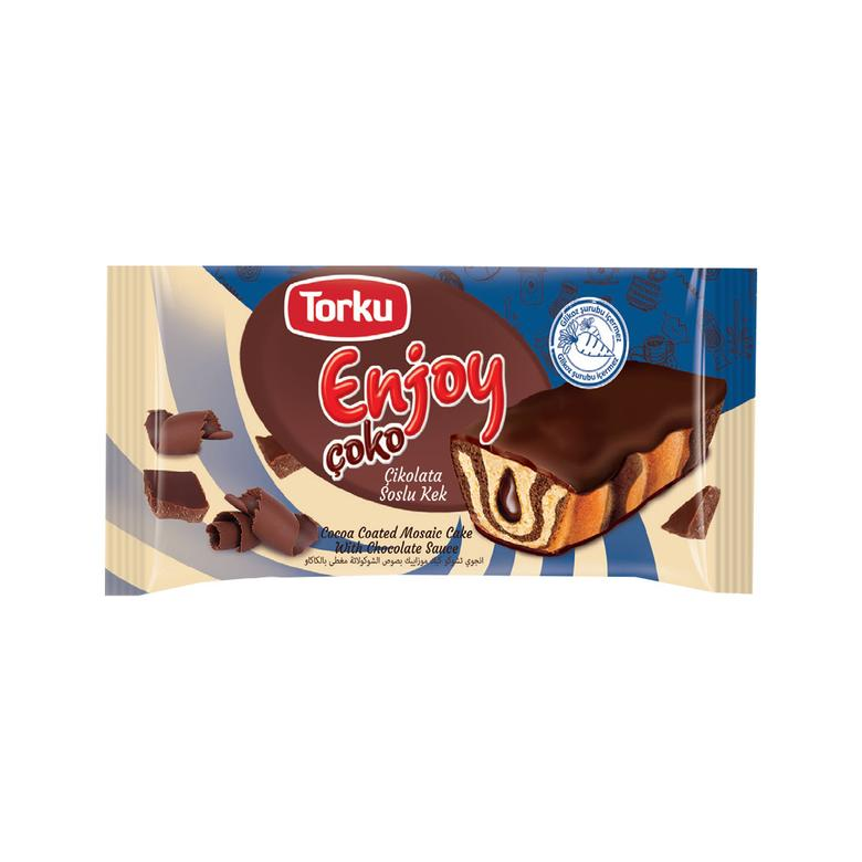 Enjoy Torku Kek Kremalı Çikolata Soslu 55g