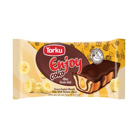 Enjoy Torku Kek Kremalı Muz Soslu 55g