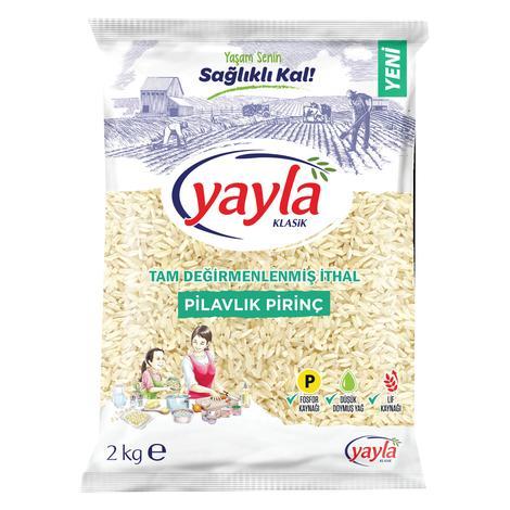 Yayla Pilavlık İthal Pirinç  2000 G