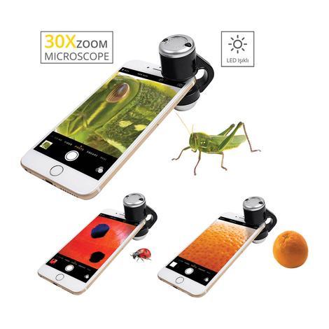 Piranha Mikroskop Lens