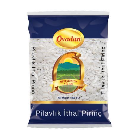 Ovadan Pilavlık Pirinç İthal 1000 G