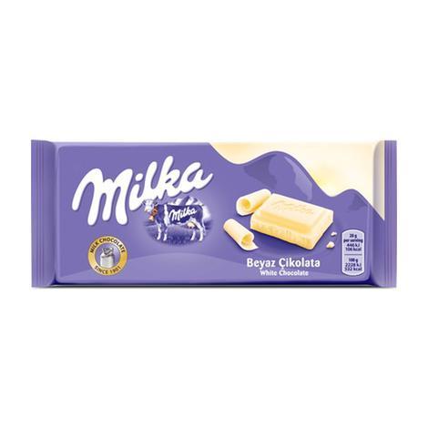 Mılka Çikolata Beyaz Sütlü 80 G
