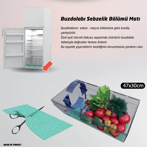 Metaltex Buzdolabı Sebzelik Matı